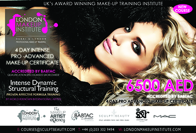 AFFORDABLE PRO MAKE-UP ARTIST MASTERCLASS - 6500 AED