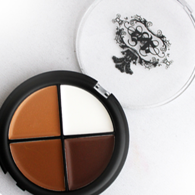 Smoke & Rouge Flawless Finish HD Contour Quad