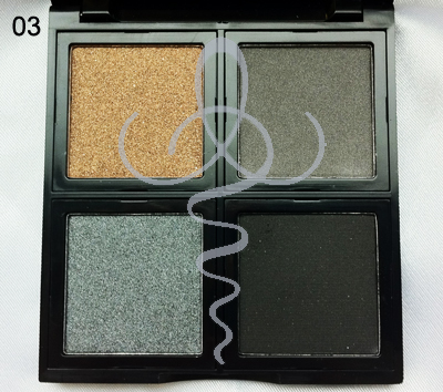 Sculpt Beauty Quad Eyeshadow Palette