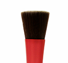 Smoke and Rouge Flat Top Buffer Brush