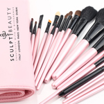 Pretty in Pink Luxury Brush Set by Sculpt Beauty