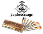 Tabia Gold Brush Set by Smoke & Rouge