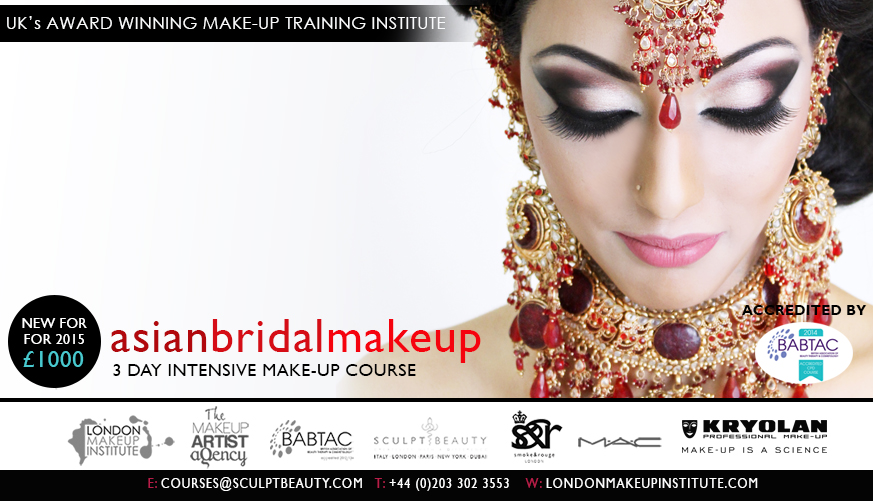 Asian Bridal Make-up Certificate