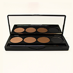 Smoke & Rouge Brow Contour Palette