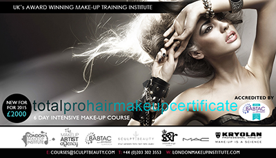 TOTAL PRO HAIR & MAKE-UP CERTIFICATE